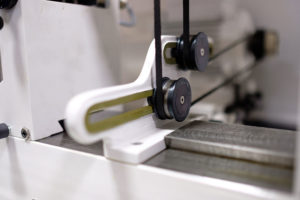 DB3 dynamic balancing machine close up